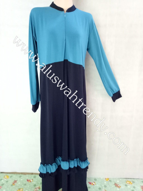 Gamis Muslimah 027 Bahan Jersey