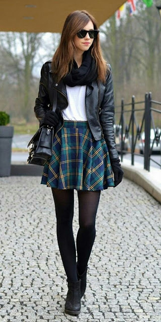 Winter fall teenage fashion