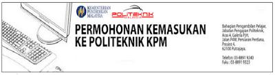 Permohonan Pra Diploma Politeknik Jun 2016 Online