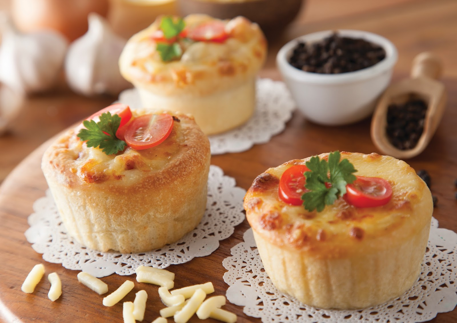 Mini Muffin Pizza