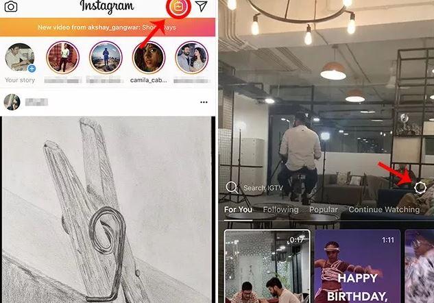 cara membuat channel IGTV Instagram
