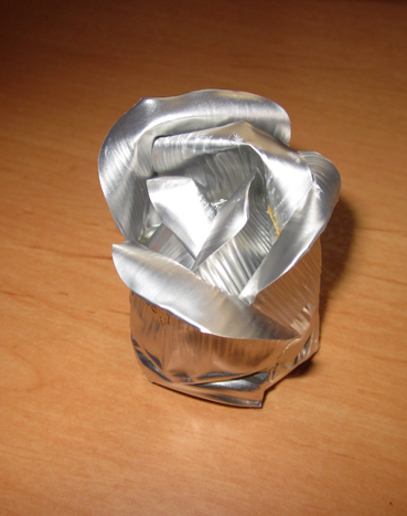 Tutorial rosa de aluminio