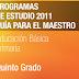 PLAN Y PROGRAMAS DE ESTUDIO 2011 5° PRIMARIA