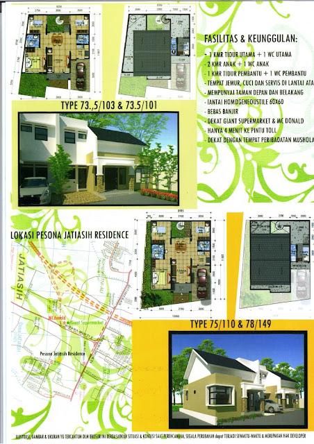 Di Jual Rumah Baru di Bekasi, Lokasi Strategis dekat Pintu Tol Jatiasih
