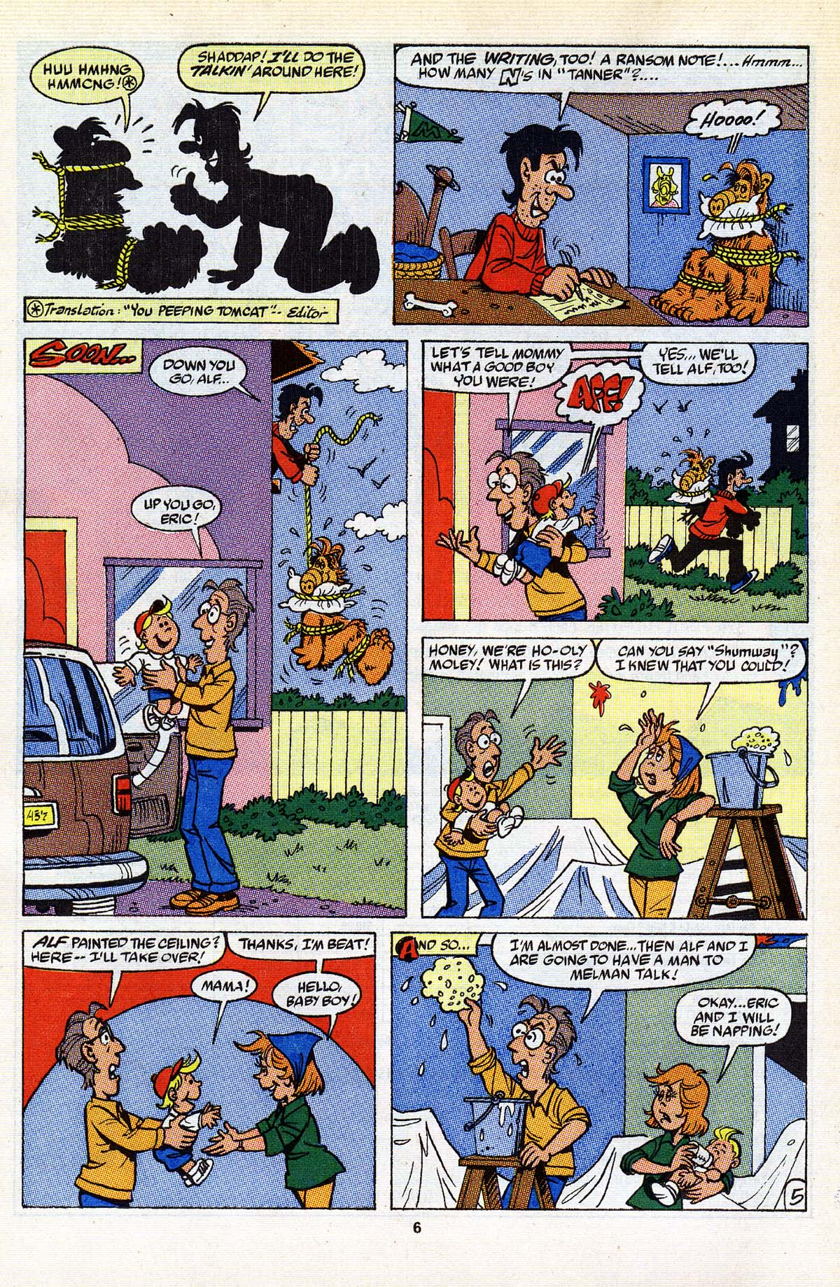 Read online ALF comic -  Issue #25 - 6