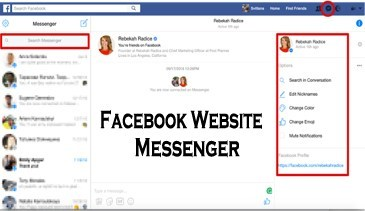 Facebook Website Messenger – www.Facebook.com