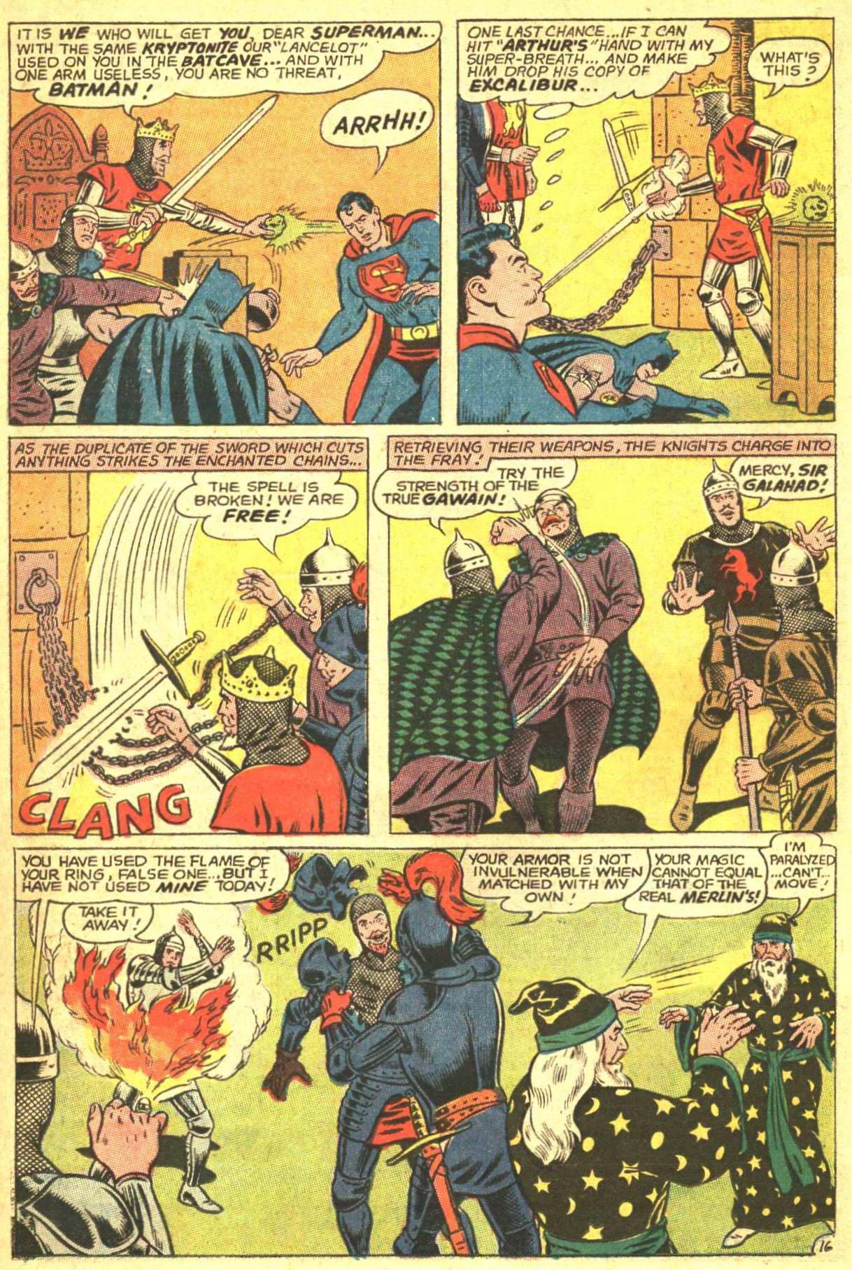 Read online World's Finest Comics comic -  Issue #162 - 22