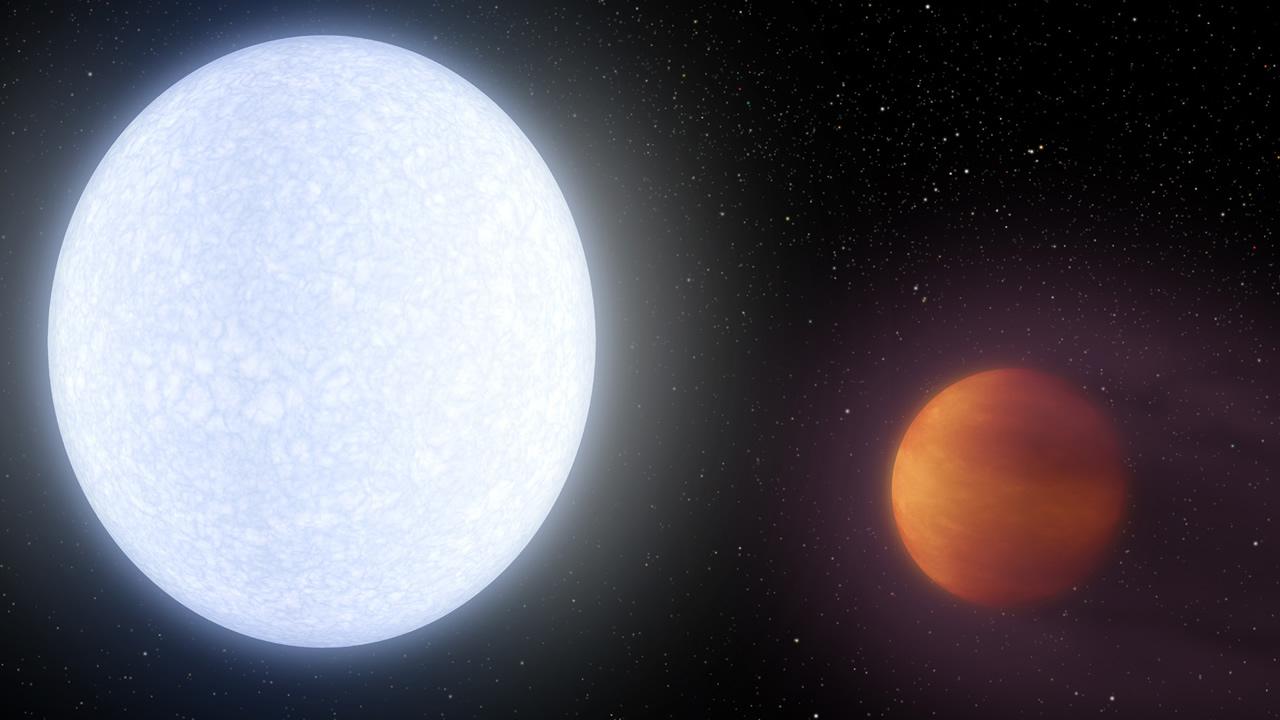 Encuentran el planeta más caliente del universo conocido - y es más caliente que la mayoría de las estrellas