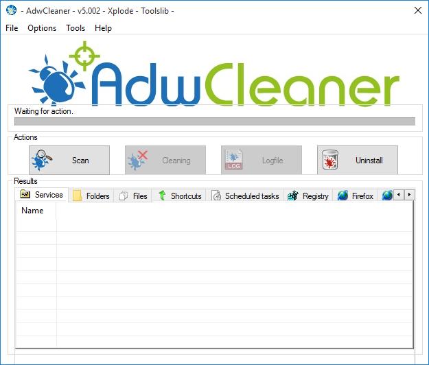 AdwCleaner phần mềm nên có cho máy tính chạy  Windows 10