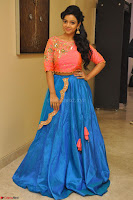 Nithya Shetty in Orange Choli at Kalamandir Foundation 7th anniversary Celebrations ~  Actress Galleries 052.JPG