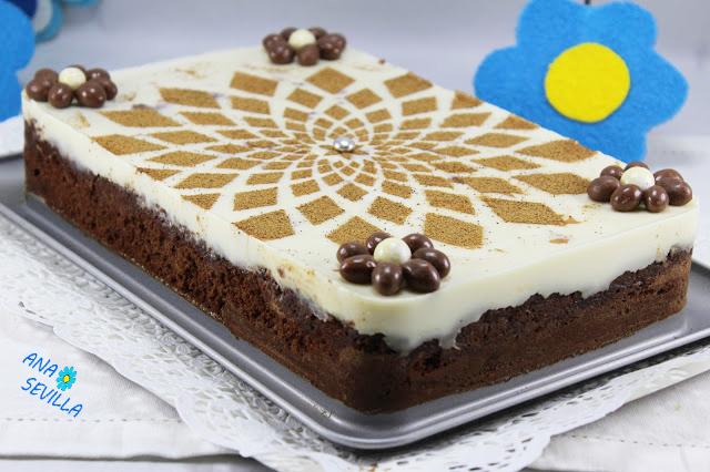 Tarta brownie y flan Ana Sevilla cocina tradicional