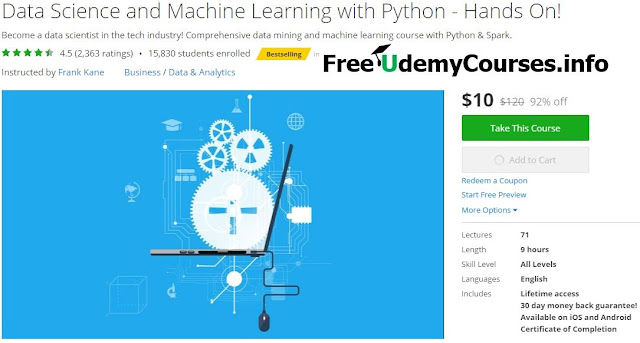 Data-Science-and-Machine-Learning-with-Python-Hands-On
