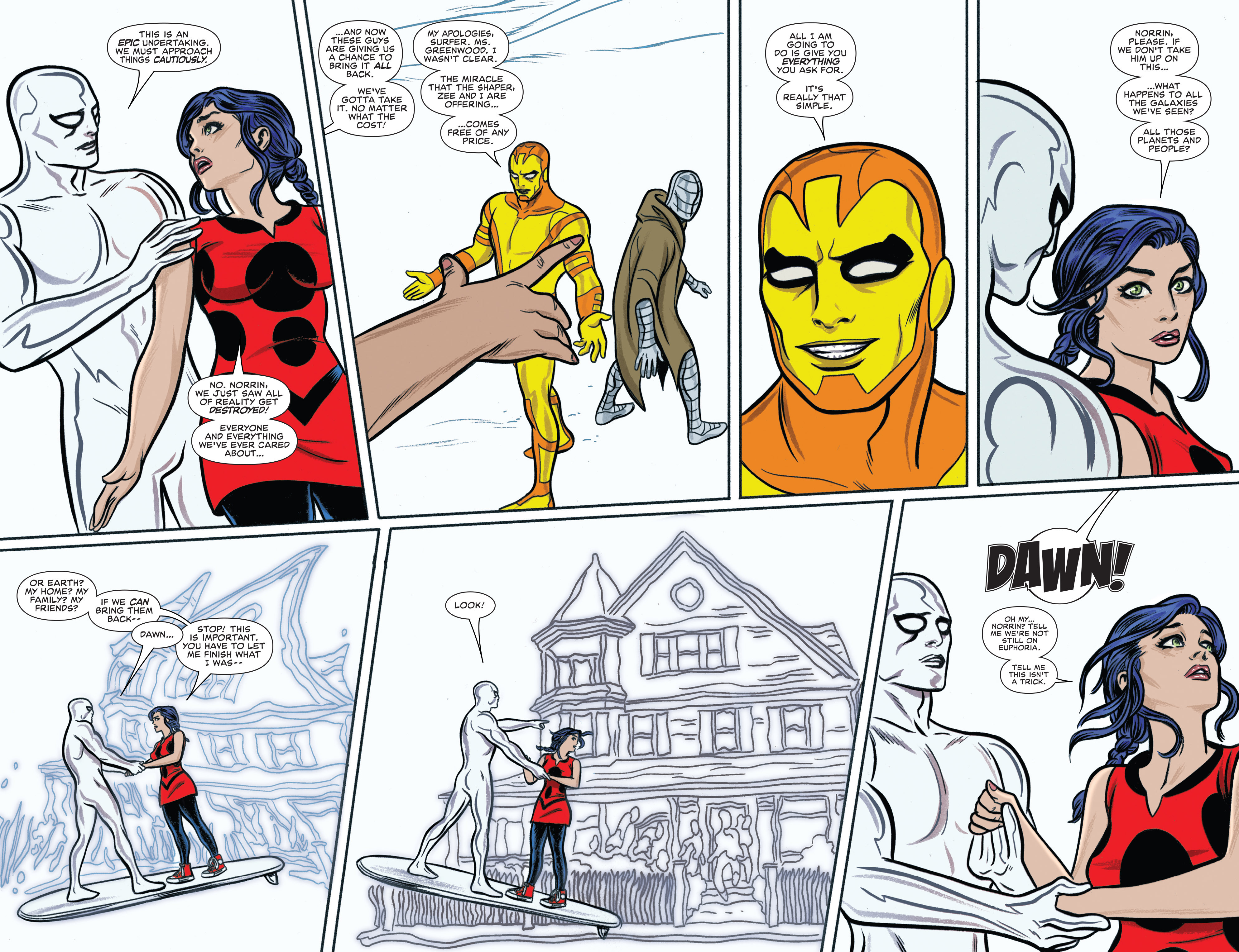 Read online Silver Surfer (2014) comic -  Issue #14 - 4