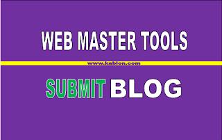 Cara Submit Url Ke webmaster versi baru