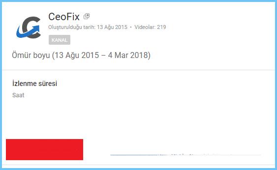 youtube izlenme süresini dakika olarak değil saat olarak görüntüle-www.ceofix.com