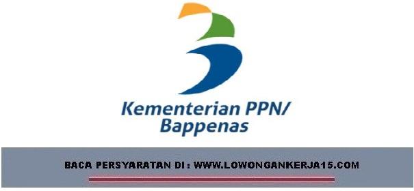 lowongan kerja kementerian PPN
