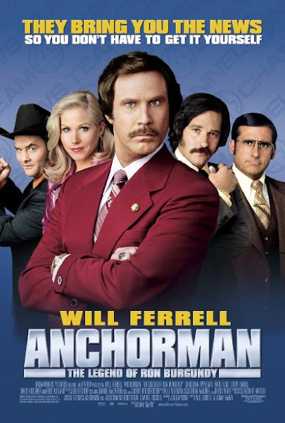 Poster of (18+) Anchorman 2004 720p Hindi BRRip Dual Audio Full Movie