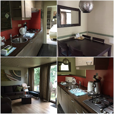 VIP accommodation at Center Parcs, Erperheide, Belgium