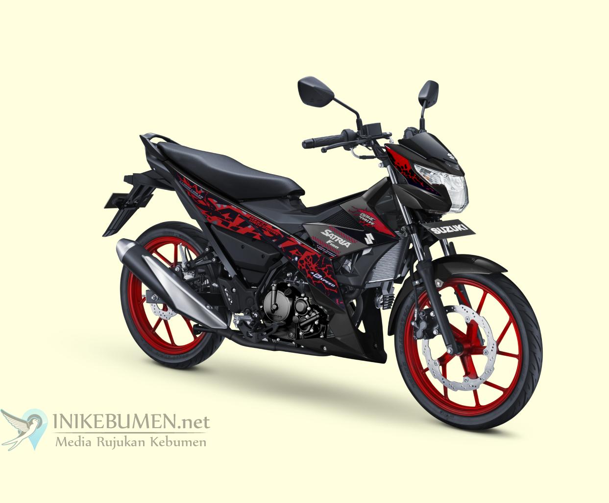 Warna Baru Suzuki All New Satria F150, Aktualisasi Diri Gaya Berani Satria