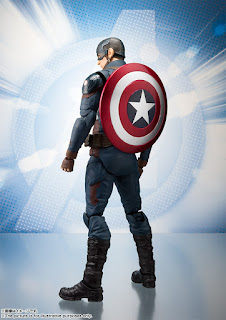 Figuras: Imágenes y detalles de los nuevos S.H.Figuarts Capitan America de Avengers: Endgame - Tamashii Nations