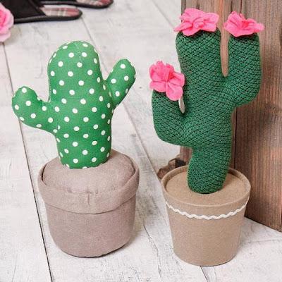 Cactus Door Stop
