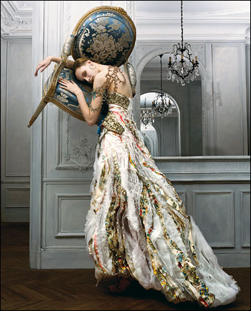 Christian Lacroix Fashion Photography editorial
