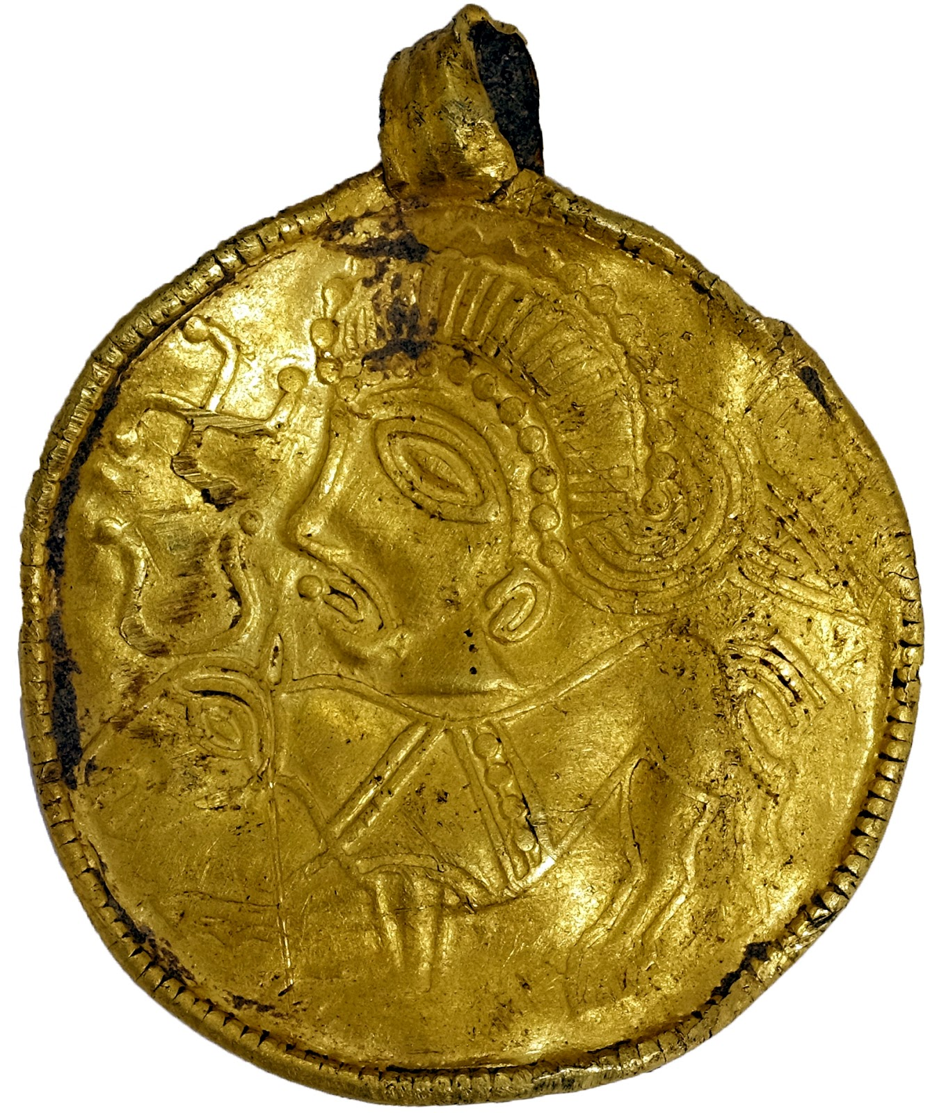 rare 1 500 year old odin amulet found in denmark the archaeology