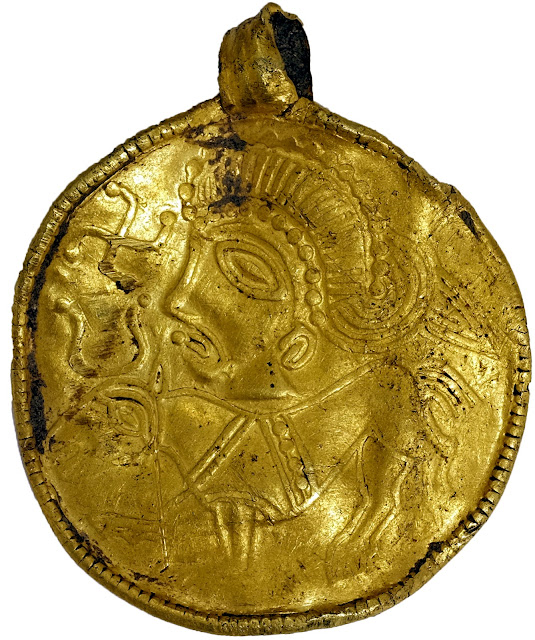 Rare 1,500 year old Odin amulet found in Denmark