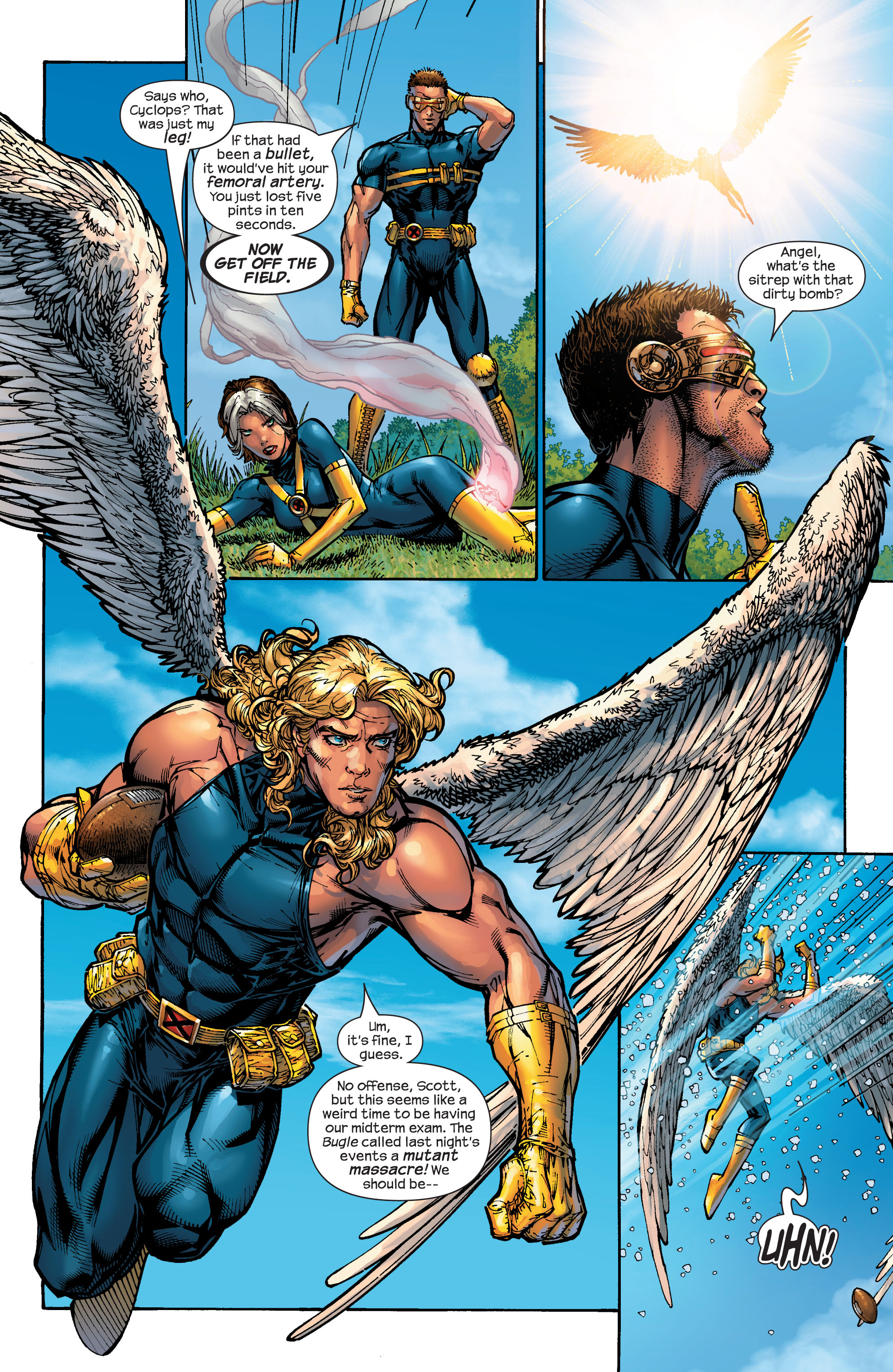 Read online Ultimate X-Men comic -  Issue #47 - 12