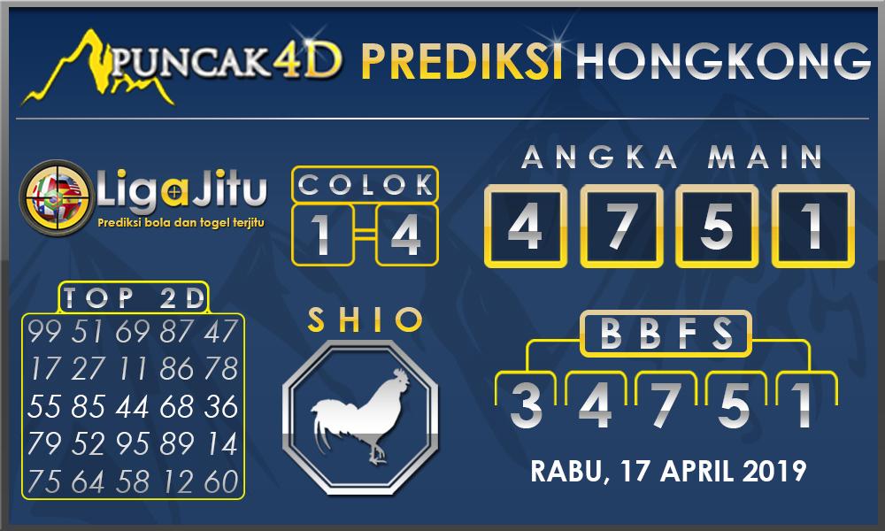 PREDIKSI TOGEL HONGKONG PUNCAK4D 17 APRIL 2019