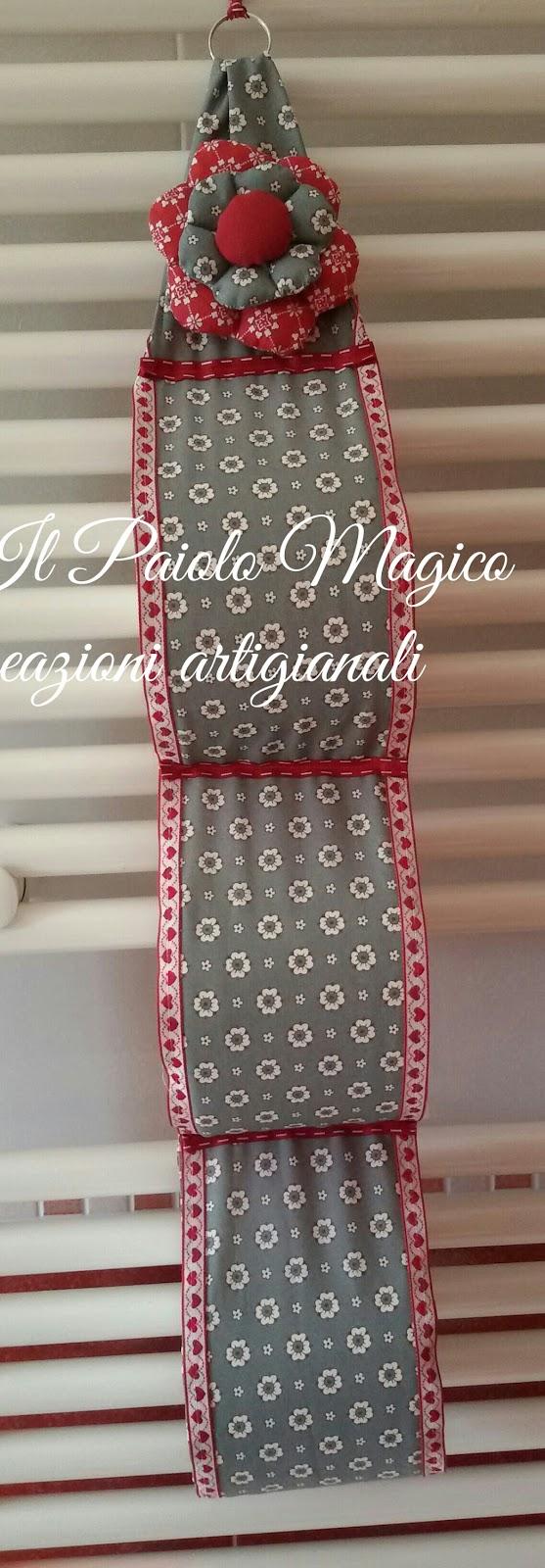 Il paiolo magico porta rotoli carta igienica tutorial - Dove mettere il porta carta igienica ...