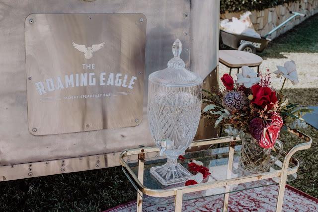 rustic vintage mobile wedding caravan bar hire newcastle