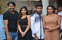 Khayyum, Gourav, Madhulagna Das, Athiya, Sekhar at Chandra Danger Love Story Press Meet  0032.jpg