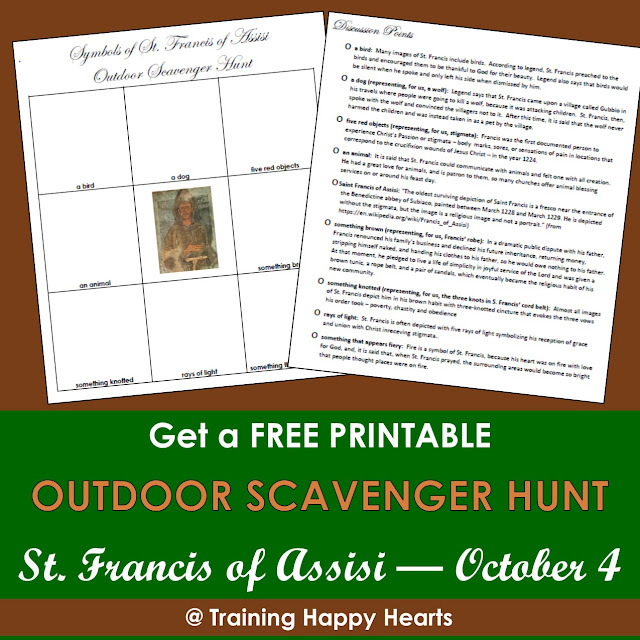 Training Happy Hearts Get A Free St Francis Of Assisi Outdoor