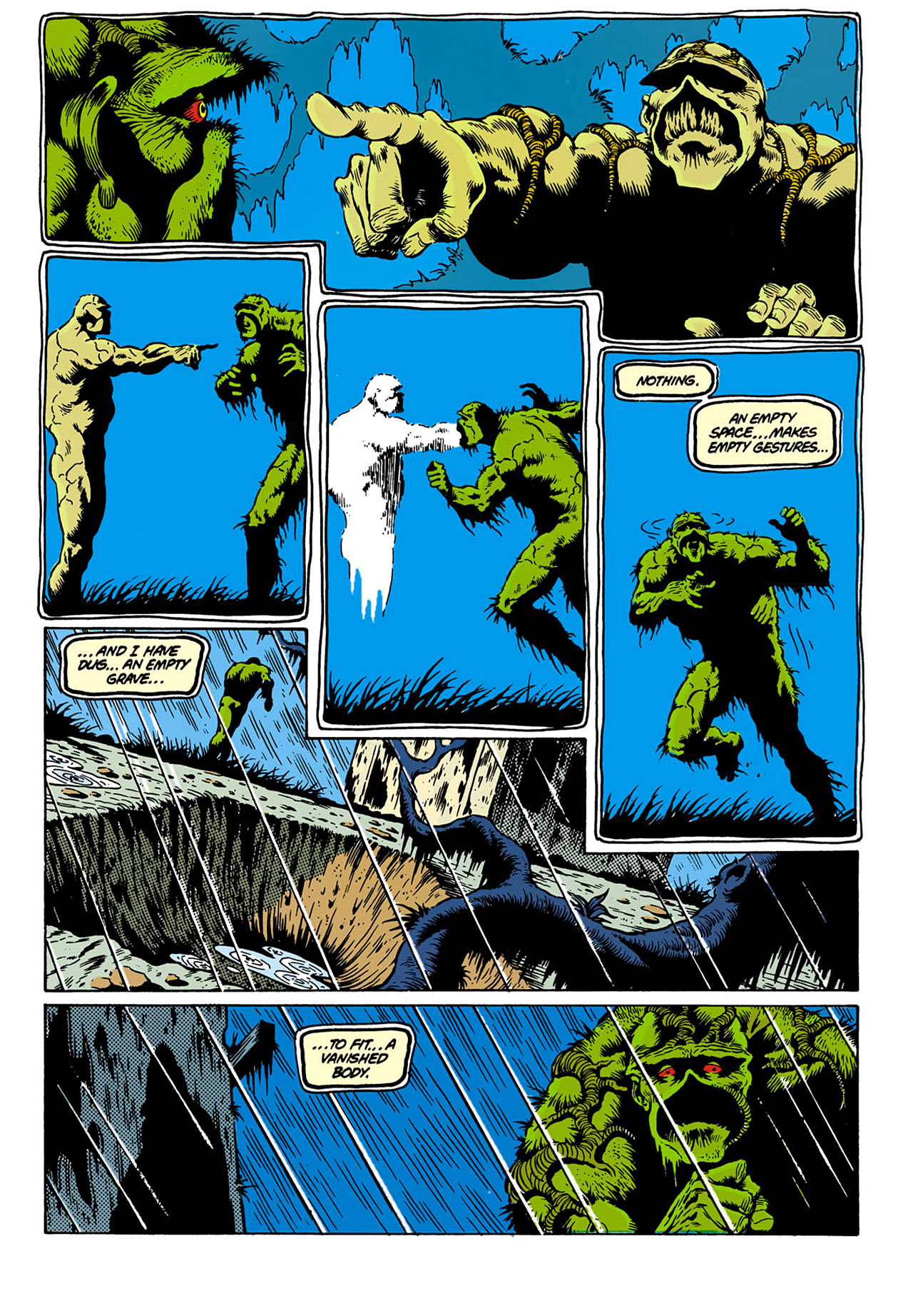 Swamp Thing (1982) Issue #28 #36 - English 20