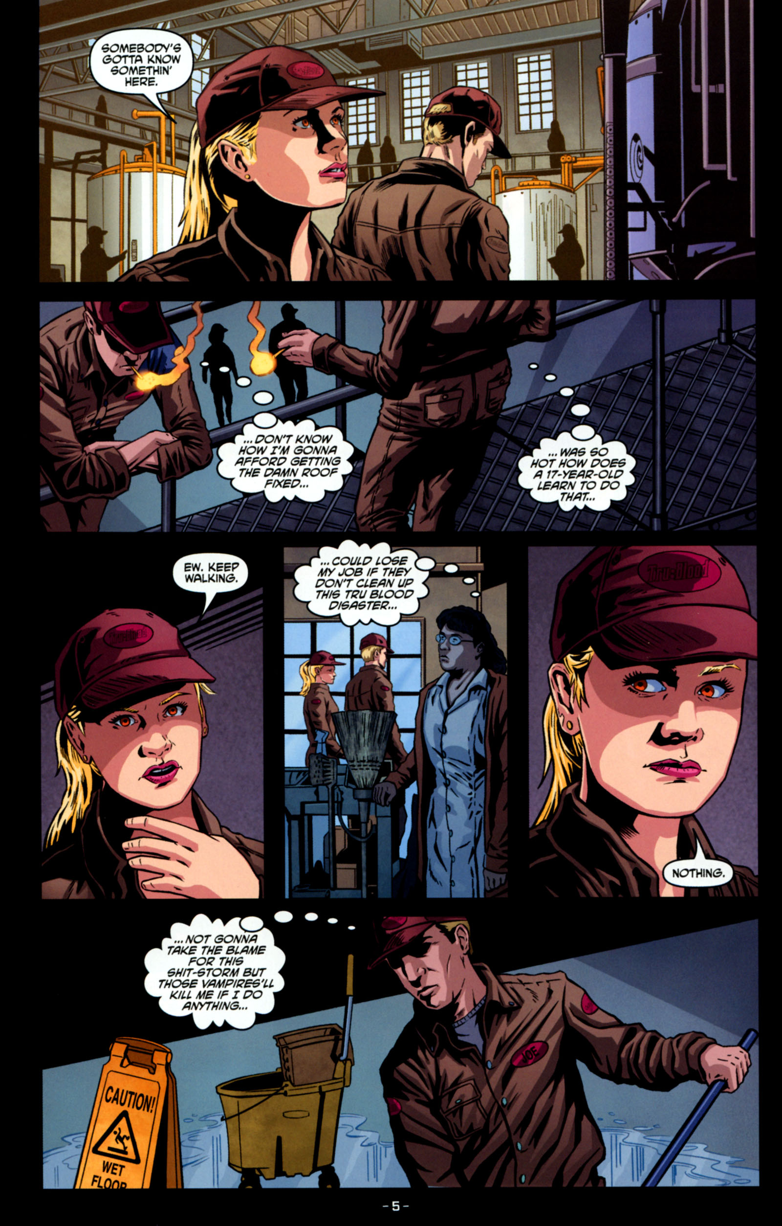 Read online True Blood: Tainted Love comic -  Issue #4 - 7