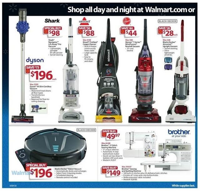 Walmart Black Friday 2016 Offer on Home Cleaning Products