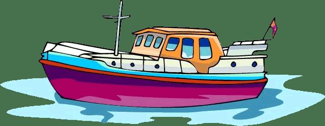 Barco De Carga Animado