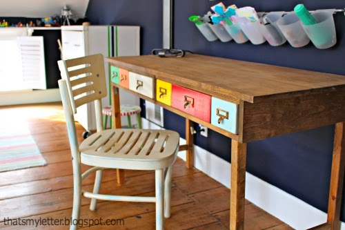 diy play table desk