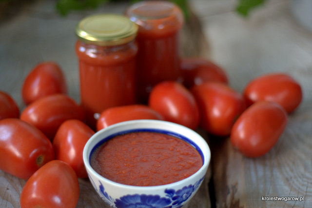 Blog O Gotowaniu Tradycyjna Kuchnia Przecier Pomidorowy