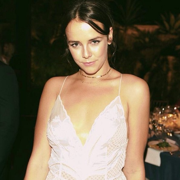Princess Stephanie's daughter Pauline Ducruet attended the amfAR Gala in support of AIDS research, at the home of Dinho Diniz in Sao Paulo