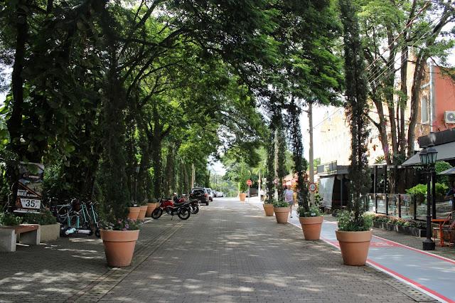 Rua Dória Vasconcelos, em Holambra, São Paulo.