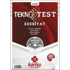 Körfez LYS Edebiyat Tekno Test Çözümlü DVDli