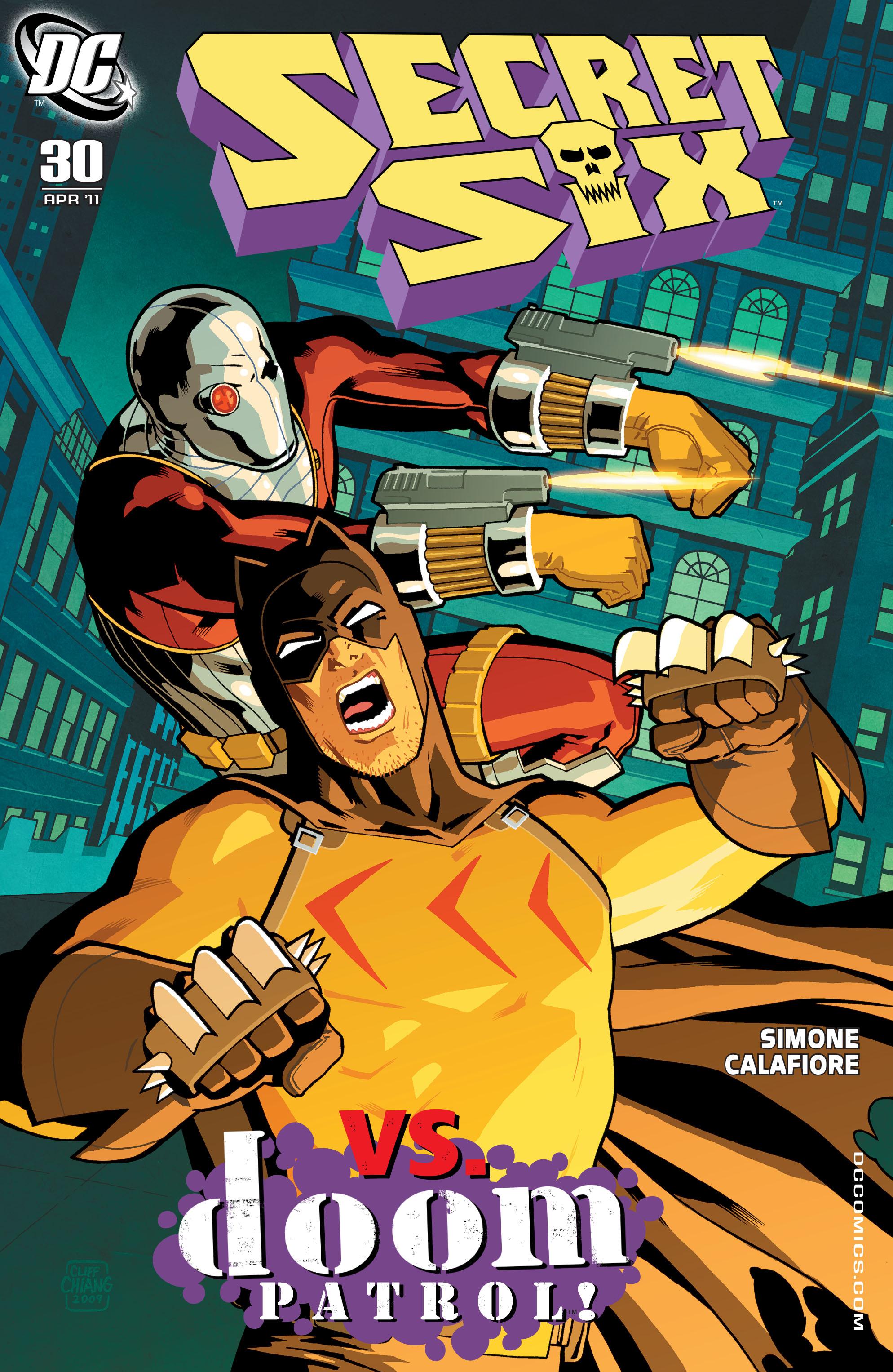 Read online Secret Six (2008) comic -  Issue #30 - 1