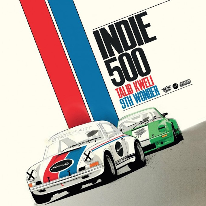 Talib Kweli und 9th Wonder Kollabo 'Indie 500' LP Full Album Stream