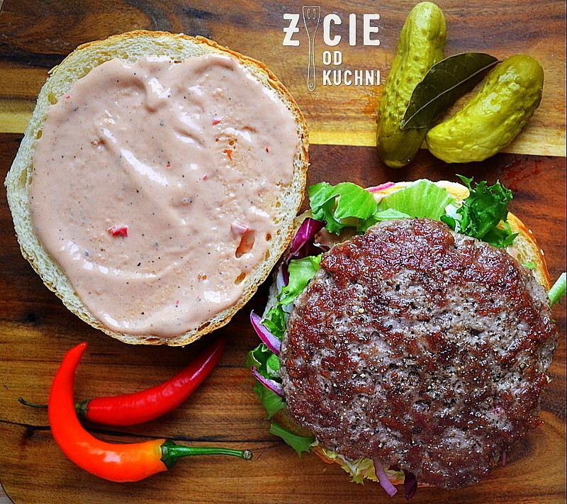burger, mieso do burgerow, bulki do burgerow, wolowina, burger domowy, zycie od kuchni, dodatki do burgerow