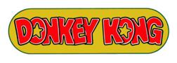 Donkey Kong logo 1981