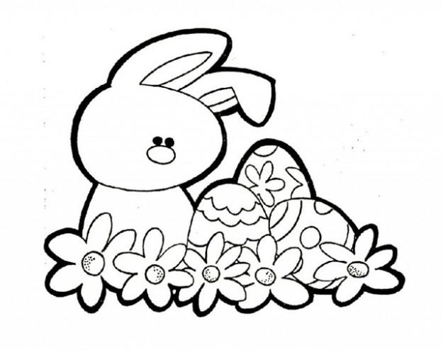 Qué Puedo Hacer Hoy Huevos De Pascua Para Colorear