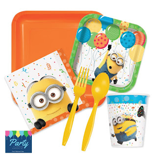 Despicable Me 3 party supplies