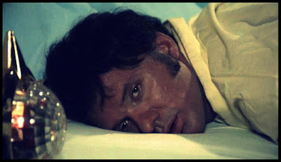 Peter Carpenter in a shot from BLOOD MANIA (1970)